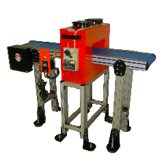 Tunnel Demagnetizer with Powered Belt Conveyor