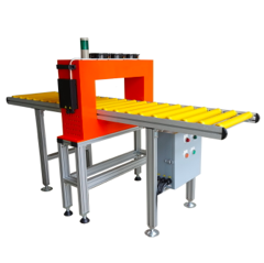 Tunnel Demagnetizer with Roller Conveyor