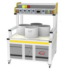循環式磁力研磨機(四槽)
